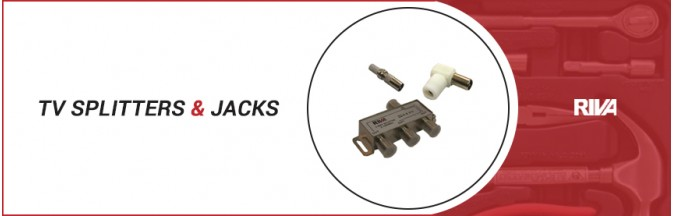 TV Splitters & Jacks